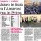 San Mauro in festa Supera l'Amaroni e ritorna in Prima categoria (il CROTONESE di martedì 1 maggio 2018