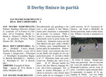 San Mauro Marchesato vs Real Roccabernarda  pareggio senza reti